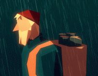 The Sobbing Woodsman on Behance | Geometric | Geometry | Graphic Design | Gif | Motion |