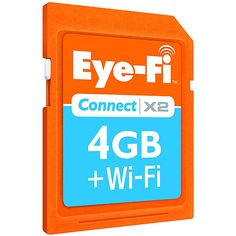 Eye-Fi Connect X2 4GB Wireless SD Memory Card
