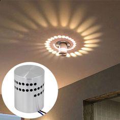 Spiry Modern LED Wall Light Lamp Sconce Spot Lighting Home Bedroom Fixture Rustic Pendant Lighting Kitchen, Industrial Bathroom Lighting, Basement Lighting, Industrial Light Fixtures, Porch Lighting, Bedroom Light Fixtures, Bathroom Ceiling Light, Hanging Light Fixtures, Wall Fixtures