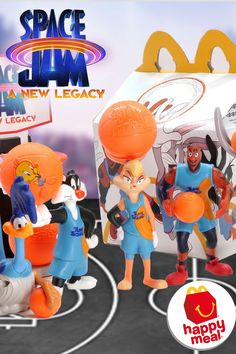 We are checking out the Space Jam 2 A New Legacy McDonald's Happy Meal Toys. Space Jam A New Legacy hits theaters and HBO Max on July 16th. Space Jam 2 McDonalds Toys are officially here! Mcdonalds Toys, Space Jam, Top Toys, Bugs Bunny, Looney Tunes, Sonic The Hedgehog, Birthday Parties, Pokemon, Happy
