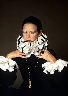 Gloria Vanderbilt by Francesco Scavullo
