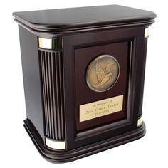 Rosewood Hall Medallion Urn - Howard Miller