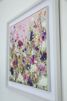 Contemporary Art For Sale, Irish Art, Acrylic Art, Expressionism, Floral, Original Art, New Homes, Paintings, Flowers