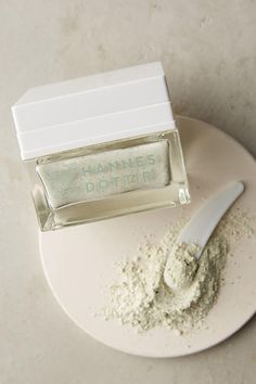 Hannes Dottir Marine Collagen Lift | This powder-based mask works to tighten your complexion and refine your pores with a blend of geothermally dried ingredients including Icelandic sea kelp and marine collagen peptides. Antioxidant-rich honey and soothing vanilla bean soothe the senses and smooth the skin. | #skincare #glam #beauty #natural #healthy