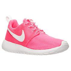 082dd18cb7 Girls' Grade School Nike Roshe One Print Casual Shoes - 677784 ...