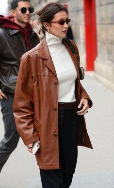 Bella Hadid Outfits, Bella Hadid Style, Streetwear Mode, Streetwear Fashion, Style Invierno, Modell Street-style, Look Fashion, Fashion Outfits, Womens Fashion