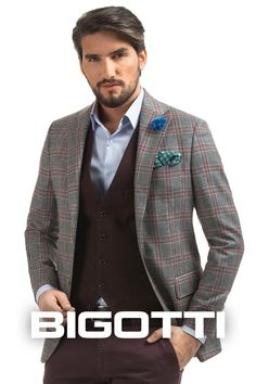 #Worn with #trousers in the same #color , the #waistcoat #favours the #silhouette , #creating the #optical #effect of #continuity .  In #addition, it is #easy to #integrate in the #office #outfits , and in the #smartcasual #leisurewear . #Products #available in #Bigotti #men #clothing #stores and on www.bigotti.ro