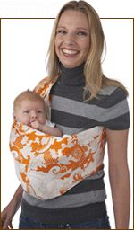 A Simple, Unpadded Native-style baby pouch ( or sling )