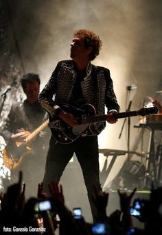 "Gustavo Cerati, Tour ""Fuerza natural"", Tijuana Baja California México.  Argentinian rock icon Cerati (Soda Stereo) suffered a stroke in 2010 and remains in a coma."