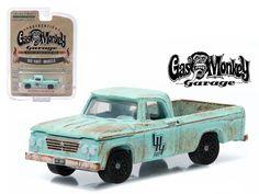 1964 Dodge D 100 Sweptline Gas Monkey Garage 1/64 Diecast Model by Greenlight