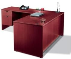 """Offices to Go SL6630DS 66"""" L Shaped Desk with Drawers"""