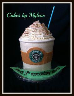 Starbucks by Cakes By Mylene, via Flickr