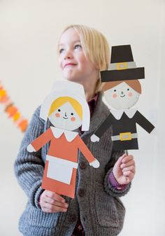 DIY Thanksgiving Puppets (inspired by /lifetimetv/'s #TurkeyHollow - premiering tonight at 8pm!)