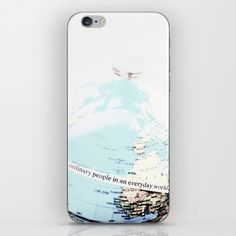 Ordinary People iPhone & iPod Skin by ARTbyJWP in Society6 #phoneskin #phoneskins #phoneaccessories #society6 #artbyjwp #ordinarypeople --- Skins are thin, easy-to-remove, vinyl decals for customizing your device. Skins are made from a patented material that eliminates air bubbles and wrinkles for easy application.