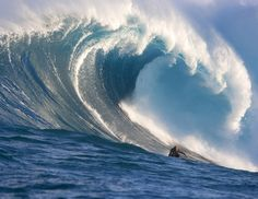 In December 2009, when a super-typhoon spiraled across the Pacific, closing all harbors and beaches in Kalama, Hawaii, Laird Hamilton headed to the water to ride some of the biggest waves.