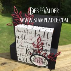Collapsible Box Card with Deb Valder Fun Stampers Journey  check out my video  https://youtu.be/EL4-uWCw2AI