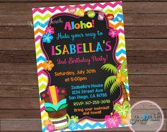 hawaiian party invitations free printable random party ideas in