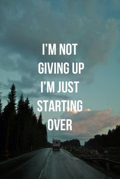 I refuse to give up.!!!I don't think God is ready to take me just yet! I have too much more to do on this earth