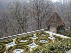 Terrasse auf Schloss Fürstenstein (Książ) - Schloss Fürstenstein – Wikipedia