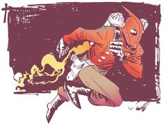 Rocketeer commission by ~Robbi462 on deviantART