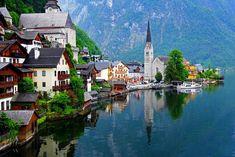 Hallstatt, Austria >>> I più bei villaggi da favola nel mondo >>> http://www.piuvivi.com/viaggi-e-vacanze/posti-luoghi-incantati-favola-nel-mondo.html <<<