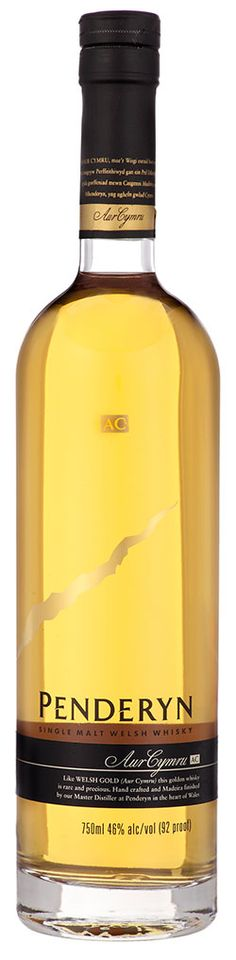 Wales Whisky: Penderyn Madeira Finish Single Malt -- Penderyn is not just the best whisky in Wales, it's the only one.