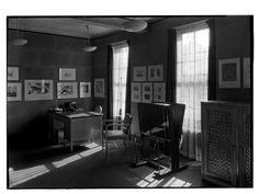 Whitney Museum of Modern Art. Cork room 2. Date: January 31, 1932  10 West 8th Street.