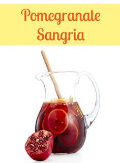 Pomegranate-Sangria