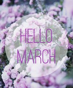 Today is the first day to a new month! I'm hoping to crush some goals this month and finish it off strong with a. Hello March Images, Hello March Quotes, Days And Months, Months In A Year, Spring Months, 12 Months, Scentsy, New Month Wishes, Happy March