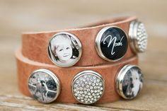 Zo gaaf! Een armband met foto's van mensen/dingen die je dierbaar zijn! http://www.foto-elvira.nl/
