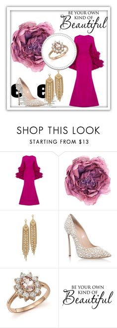 """""""Bella"""" by sifa-sarro ❤ liked on Polyvore featuring Christian Siriano, Gucci, Capwell + Co, Casadei and Bloomingdale's"""