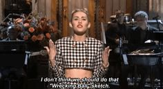 Miley Cyrus owns 'Saturday Night Live' in 10 easy steps Miley Cyrus Gif, Badass Women, Saturday Night Live, Snl, Upcoming Movies, Disney Quotes, Savage, Bobby, Pop Culture