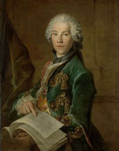 Portrait of Arnoldus van Rijneveld, Louis Tocqué, ca. 1738