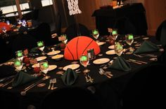 Great Basketball centerpiece-several here db