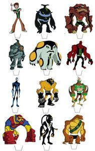 12 Ben10 Omniverse Edible Wafer Cupcake/Fairy Cake Toppers **STAND UPS** | eBay