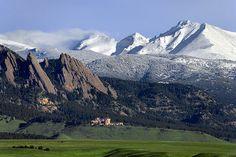 Flatirons - Boulder, Colorado