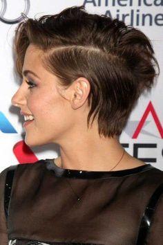Short Dark Hair Style 2016