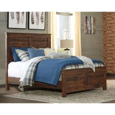 Allport Queen Storage Panel Bed