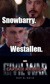 Snowbarry all the way!!