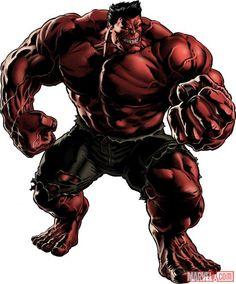 Hero Full Artworks - Marvel: Avengers Alliance Wiki - the Red Hulk Red Hulk Marvel, Marvel 616, Marvel Avengers Alliance, Marvel Comics Art, Hulk Hulk, Hawkeye Avengers, Captain Marvel, Marvel Villains, Marvel Heroes