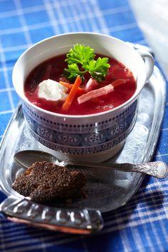 Nopea borssi eli punajuurikeitto | Venäjä | Pirkka #food #Russian