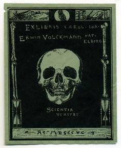 Ex-libris Erwin Volkmann