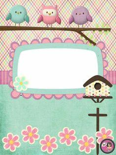 Binder Covers, Notebook Covers, Frozen Invitations, Doodle Frames, Bird Crafts, Kids Board, Frame Clipart, Good Notes, Border Design