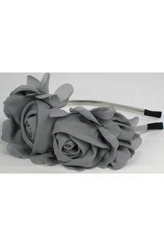 Lankelis su medžiaginėmis rožėmis