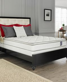 Macybed Select Queen Mattress Set, Pillowtop Cushion Firm - MATTRESS SALE - mattresses - Macy's