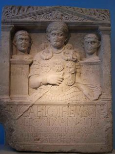 "Roman grave stone in Bonn Museum: ""To Marcus Caelius, son of Titus, of the Lemonian voting tribe, from Bologna, a centurion in the First Order of legio XVIII,  aged 53; He fell in the Varian War. His bones - if found - may be placed in this monument. Publius Caelius, son of Titus, of the Lemonian voting  tribe, his brother, set this up.""  This centurio had several military decorations like torques and phalerae proudly displayed on his breast armour."