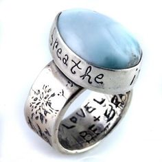 Breathe Deep Ring by Jes MaHarry Jewelry