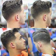 wavy comb over