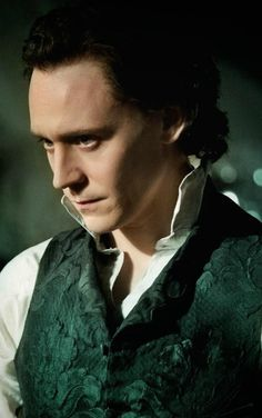 Sir Thomas Sharp, played by Tom Hiddleston. Tom was amazing as this character. And the development we saw Thomas go through in the film was beautiful to watch. He was the ultimate monster looking for redemption in the end.