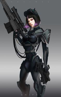 'Banshee' class soldier: Felicity